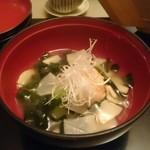 魚眠庵 マルキ本館 - 料理写真:海老しんじょう