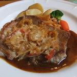 レストラン柊 - 料理写真:肉 道産豚ロースのフェルミエール