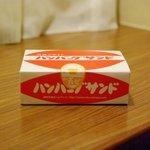 万かつサンドコーナー - ハンバーグサンドパッケージ