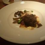 トラットリア フィオーレ - イベリコ豚の頬肉
