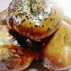 インディゴ ベーグルズ - 料理写真:塩あんこは上にゴマがふってあります