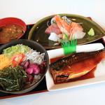 味まる - 料理写真:海鮮盛り 煮魚ランチ