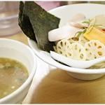 銀座 篝 - つけSOBA+特製トッピング 980+300円 バランス派のつけ麺です。