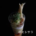ブラッスリーアムール - 四季を表現した素晴らしい作品『月ごとのお野菜のパフェ』