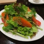 ビスポーク - スモークサーモンのサラダ