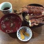 きみのやうなぎ店 - 上丼 ¥2,500-