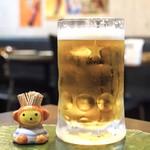 マドラスキッチン - ☆生ビール(大)800円