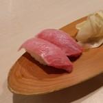 寿司 味処 河童 - 大トロ。