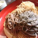 富蔵家 - 1番人気の三色蕎麦
