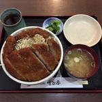 明治亭 - 肉大盛りソースかつ丼¥2,625
