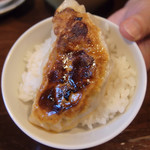 江川亭 - ランチセット(¥250)のライス