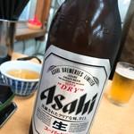 ときわ食堂 - 瓶ビール