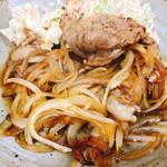 ヘンサ森 - しょうが焼き定食(600円)