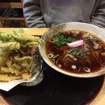 そば処たじま - 野菜天ぷらそば¥1,400