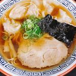 麺処 ら塾 - ワンタン麺 ワンタン絶品
