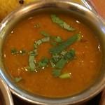 やっぱりインディア - 二種豆と冬瓜カレー
