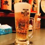75098571 - ビールでぷはぁ~