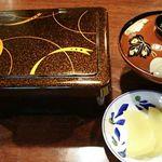 菱東 - ■うな重 (梅 うなぎ 半身) 2,500円 (税込) 2017年10月