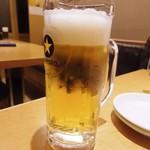 土鍋・餃子 - 生ビール