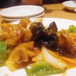 土鍋・餃子 - 酢豚