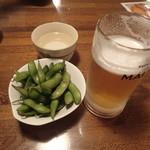 75100148 - ビール呑んじゃった、「千寿」