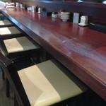 魚料理 ぎん - カウンター席