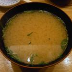 75102595 - 味噌汁 別途120円