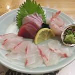 魚将 さかなちゃん - 刺身の盛り合わせ
