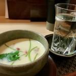 和食 直 - 絶品の海鮮茶碗蒸し