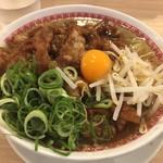 肉汁麺ススム - 肉汁麺レベル2(肉200g)@880円