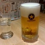 75105688 - 生ビールと風の森