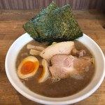 ラーメン サンガ - 特鰹豚麺(肉とのりが2枚) 950円 (2017/10)