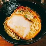 貝ガラ屋 - 超牡蠣味噌ラーメン(850円)+大盛(150円)