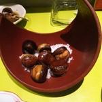 しゅんまん - 栗の揚げたのも美味しかったです