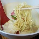 75109402 - 麺は加水率低めのしこしこ麺。