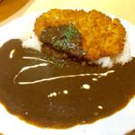 えり膳 - 「カツカレー」(700円)。