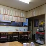 中園食堂 - お店の中デス。