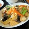 大唐 - 料理写真:豚肉・木クラゲと玉子の炒め