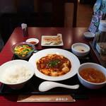 西安餃子 - 麻婆豆腐セット
