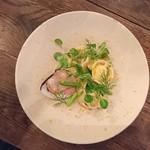 organ - 千葉産 地蛤と自家製チーズのラビオリ