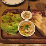 マヌエル タスカ ド ターリョ - 4種の前菜盛合せ