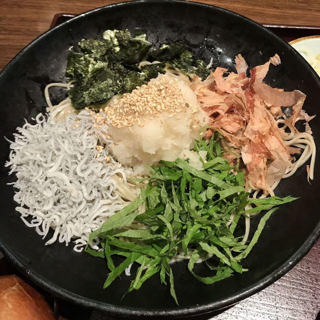 越後 叶家 ラゾーナ川崎店 - ぶっかけ大根そば。 美味し。