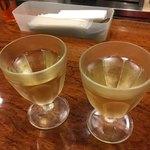 タッポスト チャオラ - 白ワインでカンパ〜イ('17/10/21)