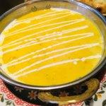 タンドリーキッチン - ダール豆のココナッツカレーのアップ。まろやかでやさしいカレー。食べやすくておいしい。