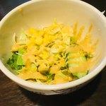 タンドリーキッチン - セットのサラダ