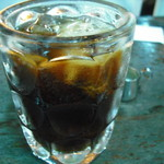 名曲喫茶ライオン - アイスコーヒー(うっかりミルク投入)