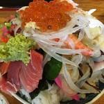 鮨岡 - 本気丼