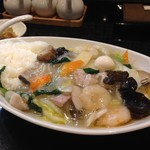 五十番飯店 上海厨房 - 料理写真:エビ中華飯