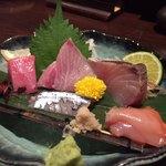 75121274 - お刺身五種(魚)