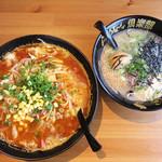 麺専科げんき - チャンポンはとっても大きい!